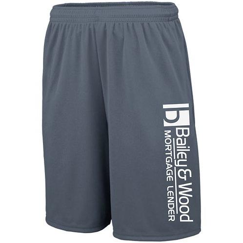 B&W-Men's Athletic Short