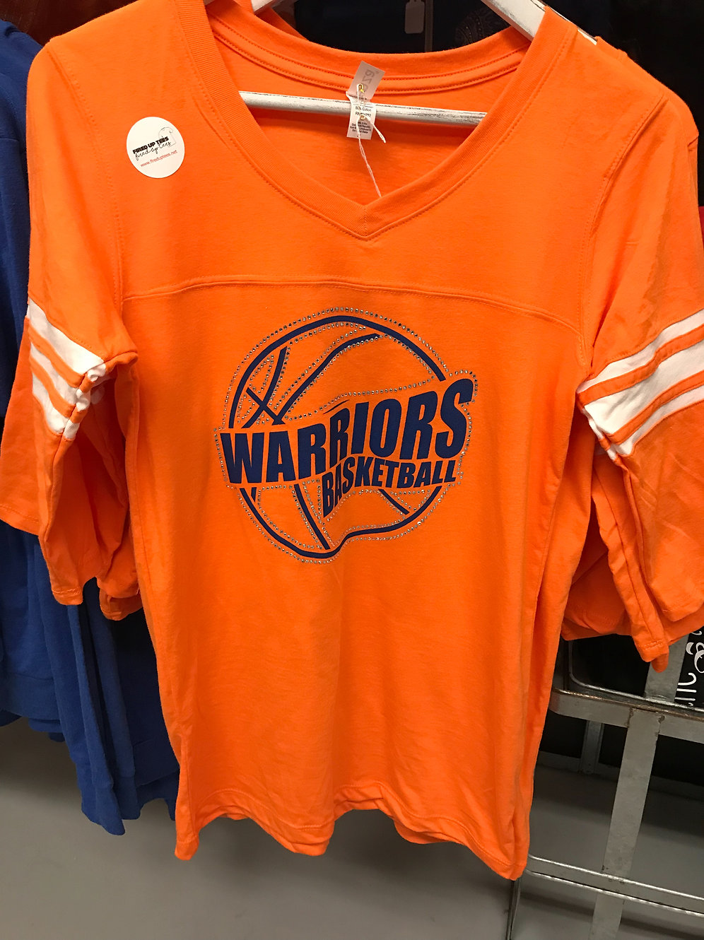 official photos e187a 2263c Whiteland Warriors 3/4 sleeve basketball shirt | watch-shop