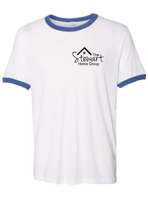 The Stewart Group-Ringer T-shirt