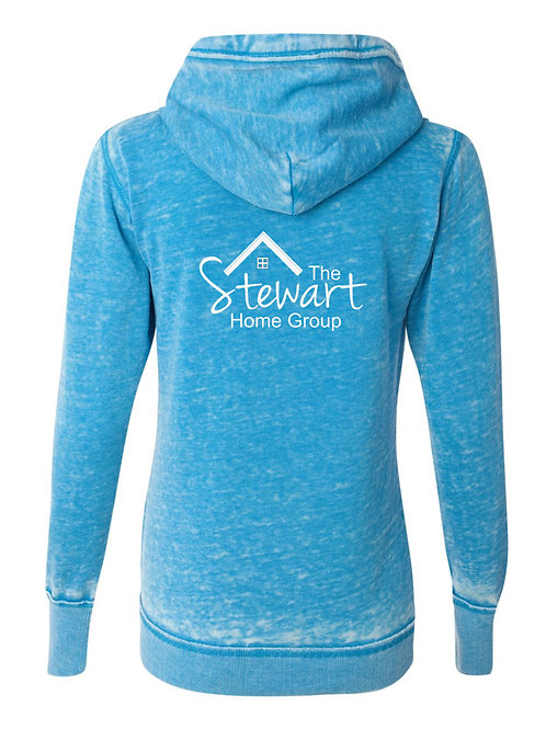 The Stewart Home Group-Weathered ZIP Fleece