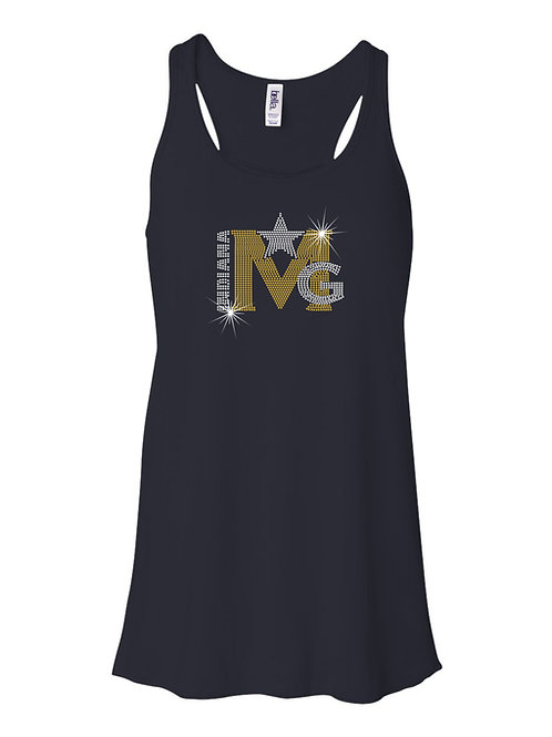 Magic Gold-Ladies Flowy Racerback Tank