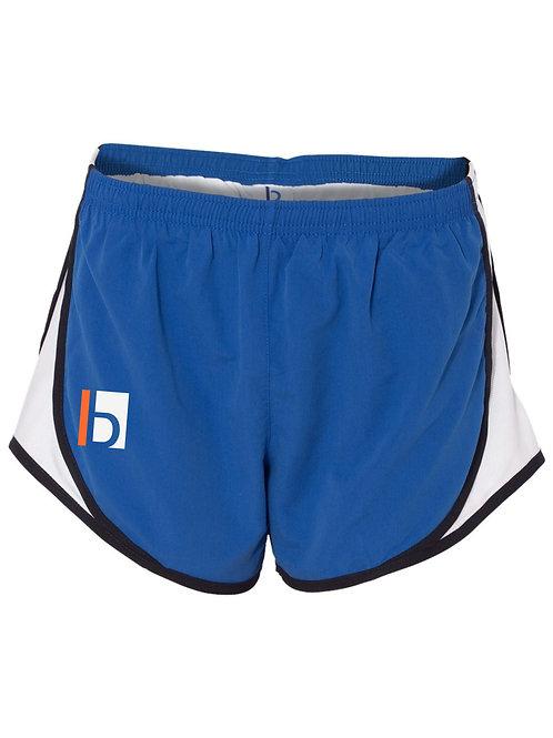 B&W-Ladies Athletic Shorts