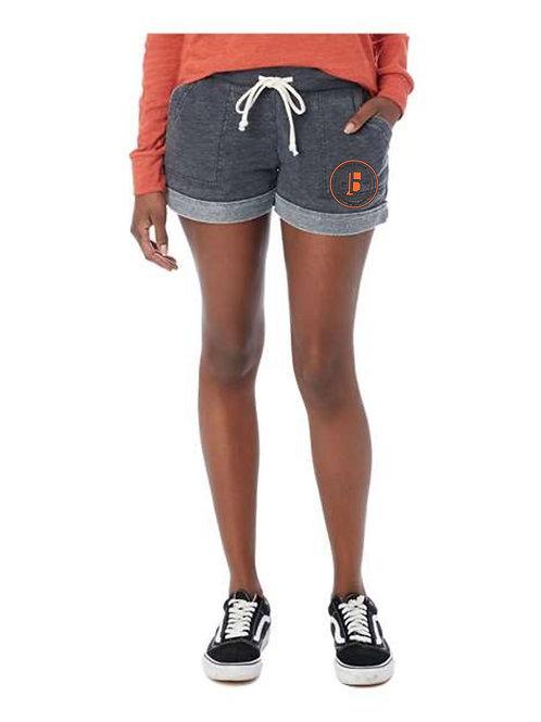 B & W-Ladies Terry Shorts