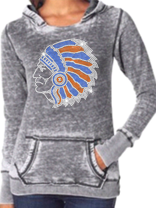 Whiteland Warriors-Weathered Grey Hoody