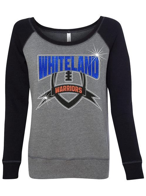 Whiteland-Ladies's Crew Neck Sweatshirt