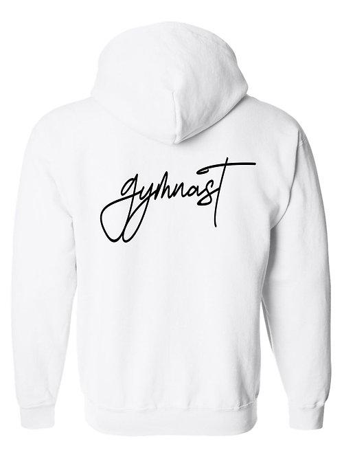gymnast-Hooded Full Zip Sweatshirt