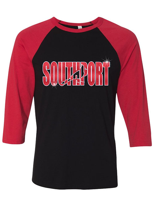 Southport-3/4 Baseball T-shirt