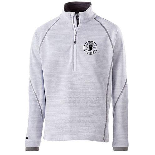 B & W Fleece Lined 1/4 Zip Pullover