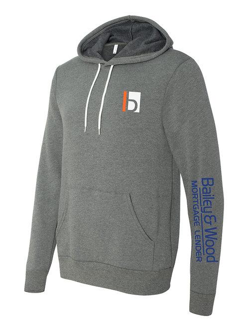 B&W-Hooded Sweatshirt
