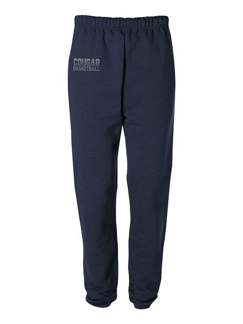 GCA Cougar Basketball- Fleece Pant