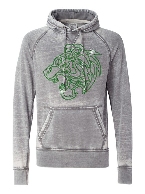 Triton Central-Tigers Weathered Hoody