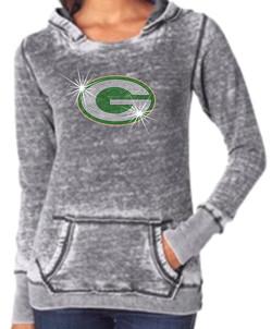 Greenwood-rhinestone G-sweatshirt