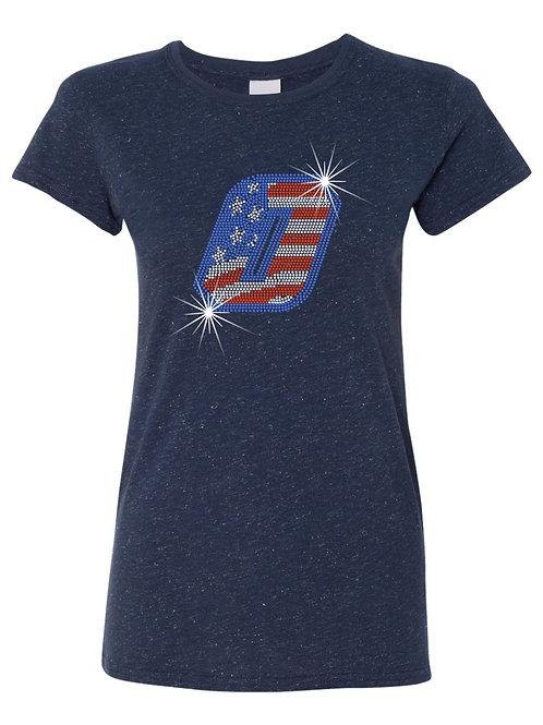 Bombers-Glitter T-shirt