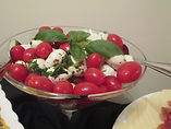 Tomato, Basil & Mozzerella Hors D'Oeuvre