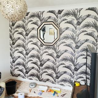 Butterworth decorators elephant wallpape