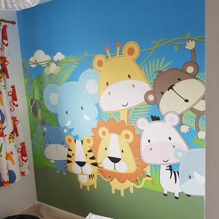 Butterworth decorators nursery animals w