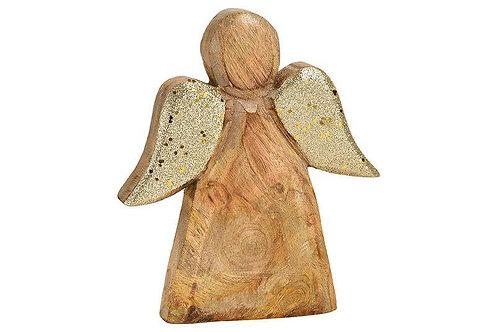 Engel aus Mangoholz