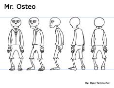 Mr. Osteo (Turnaround Sheet)