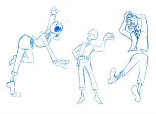 Mr. Osteo (Gesture Practice 2)