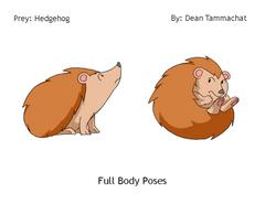 Hedgehog: Prey (Posing)