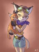 Caracal Hugging Caracal