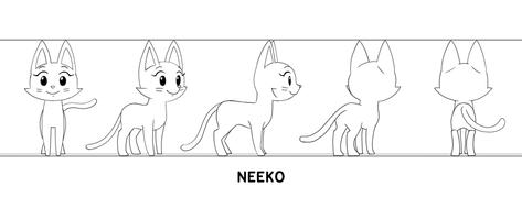 Neeko (Turnaround Sheet)