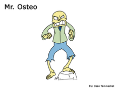 Mr. Osteo (For 2D Animation)