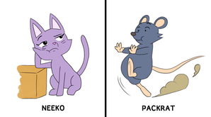 Packrat and Neeko (For 2D Animation)