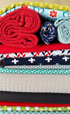 Petits plaisirs du marché du tissu