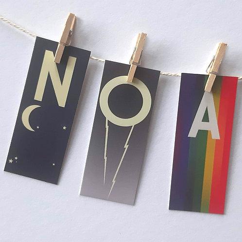 Noa - Prénom Abécédaire !