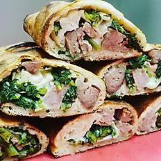 Sausage & Broccoli Rabe Sandwich