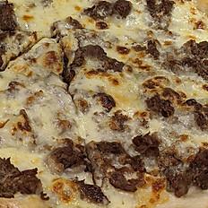 """Cheese Steak  Pizza (white) 16"""""""