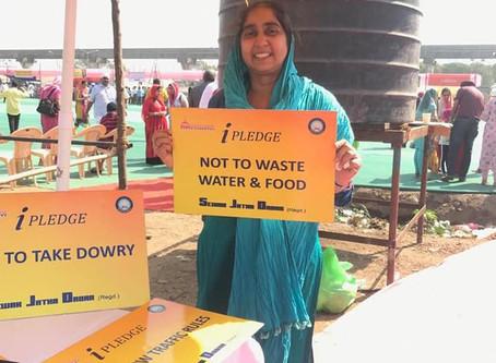 Lead Kindness Hero - Sewak Jatha Dadar, Mumbai (SJD) - Let's Take a Pledge