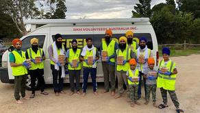Lead Kindness Hero Sikh volunteers Turbans for Australia