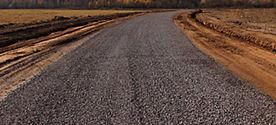строительство временной дороги Омск