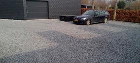 парковка из щебня в омске