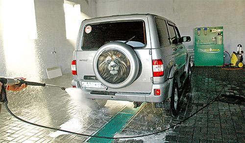 канализация на автомойке