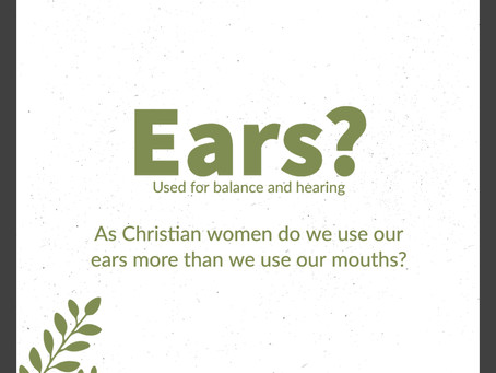 Ears>Mouths