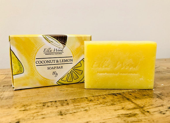 Coconut and Lemon Soap Bar