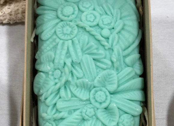 Zingy Flowers Creative Soap