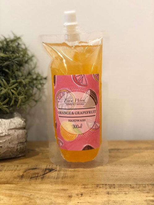 Orange and Grapefruit Handwash