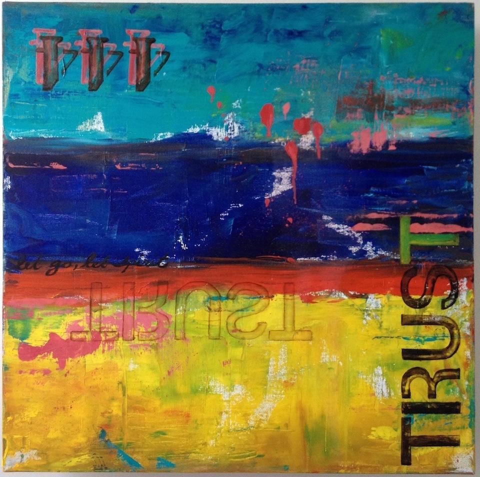 Trust, 2014, Oil, 24x24