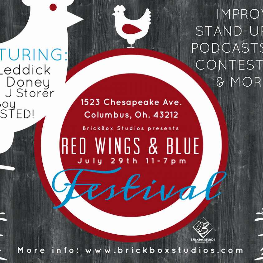 RED WINGS & BLUE Comedy Festival