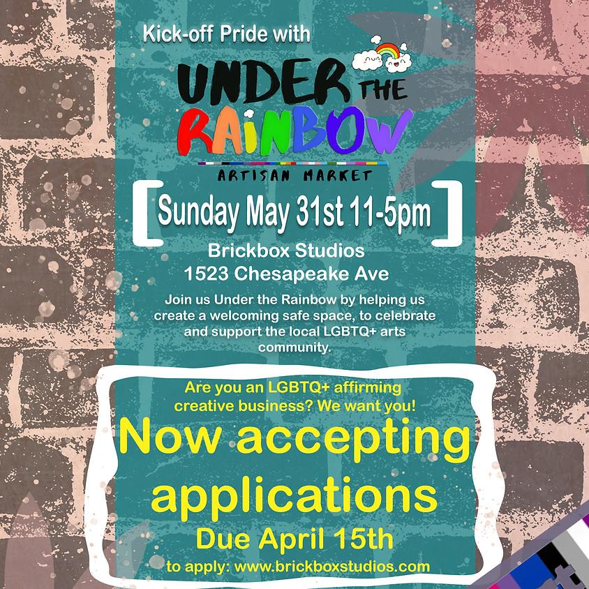 Under the Rainbow (Artisan Market)- Pride Kickoff