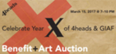 4heads Spring Concert and Art Auction. The event space donated by Samy Mahfar of SMA Equities.