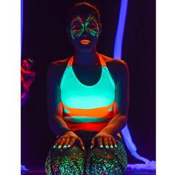 Instagram - Más del AERIAL GLOW SHOW! Pinturas 👉 @decoplast Make up Artist 👉 @