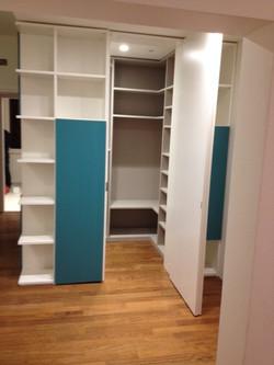 Libreria laccata bicolore 2