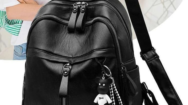 2021 New Women Backpack High Quality Youth PU Leather Backpacks for girls