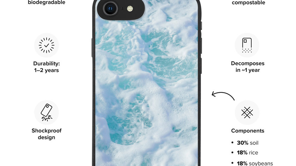 Beautiful Biodegradable phone case