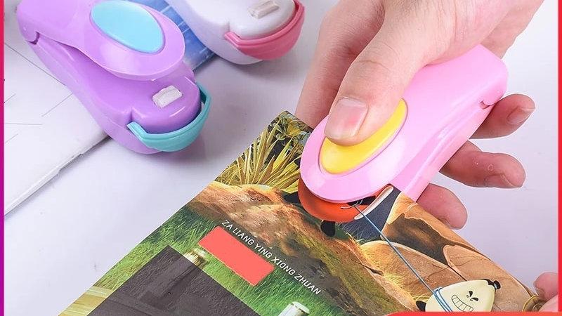 Portable Food Sealer Snack Bag Clip Hot Sealer Home Kitchen Store Appliances